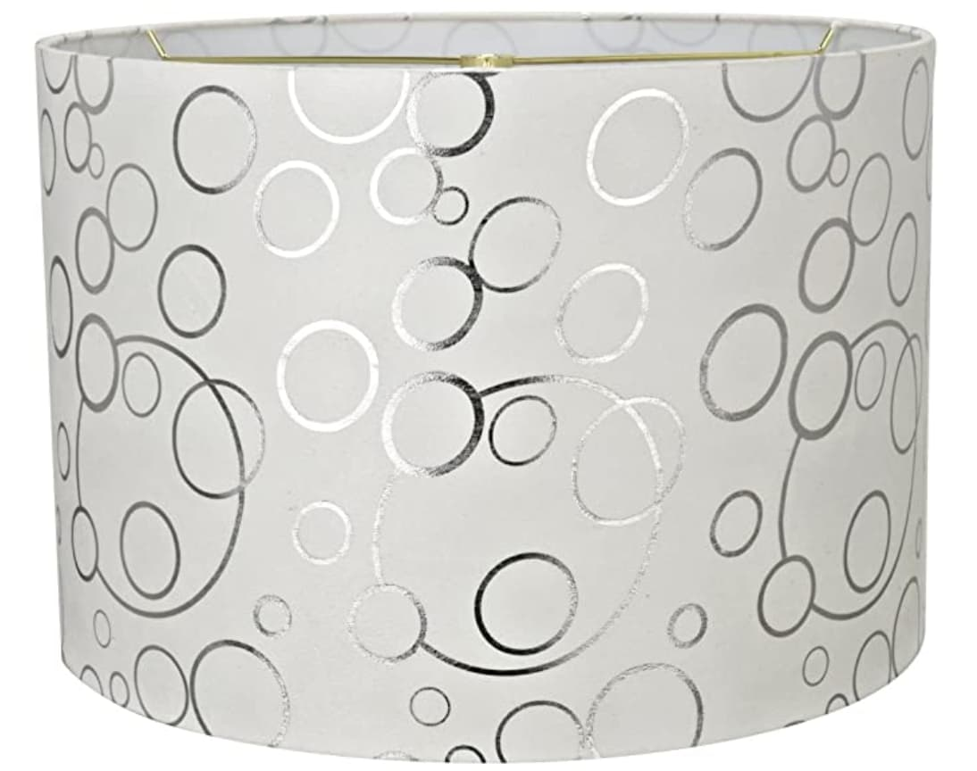 "Aspen Creative 16x16""x11"" lamp shade."