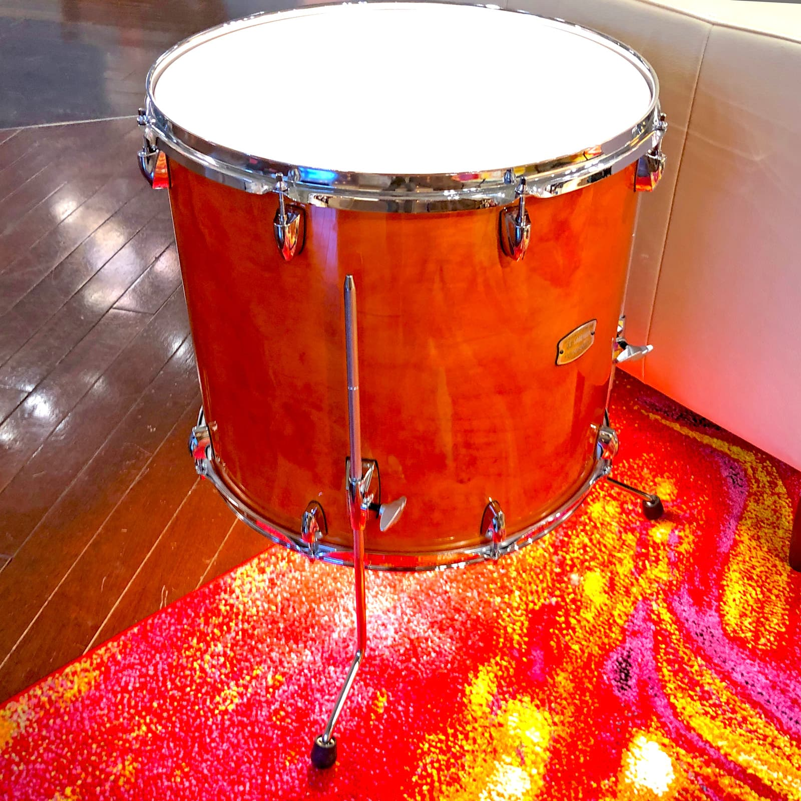 Tom Drum Side Table Accent Light