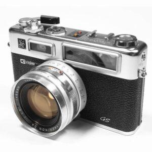 Yashica Electro G35 Camera on white background.