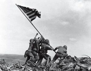 Joe Rosenthal Flag Raising Iwo-Jima 35