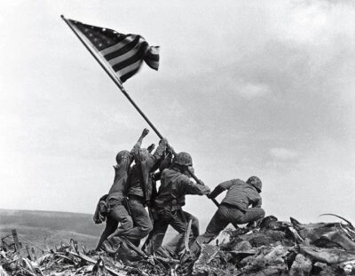 Joe Rosenthal Flag Raising Iwo-Jima 35