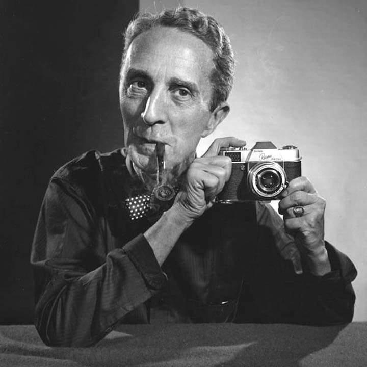 Norman Rockwell also used the Kodak Retina 35 mm to capture scenes. Rockwell is known to have always started with a photograph to create his paintings, particularly.