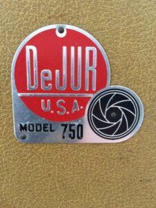 DeJur Projector Badge