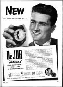 DeJur Projector Light Meter Ad
