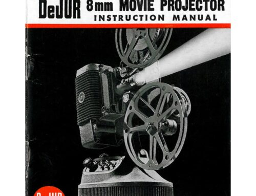 Dejur 750 8mm Midcentury Projector