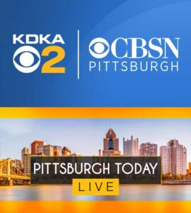 KDKA CBS Pittsburgh Channel 2 Pittsburgh Live Today Logo