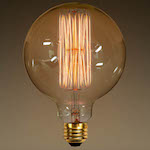 G40 Globe Squirrel Cage Filament (5-inch) © 1000Bulbs.com | All Rights Reserved. 2140 Merritt Dr, Garland, TX 75041