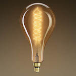 Oversized 12.2 in. Length - Spiral Filament © 1000Bulbs.com | All Rights Reserved. 2140 Merritt Dr, Garland, TX 75041