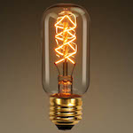 Radio Style Bulb T14 Z-shape Filament © 1000Bulbs.com | All Rights Reserved. 2140 Merritt Dr, Garland, TX 75041